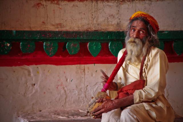 Le musicien du temple