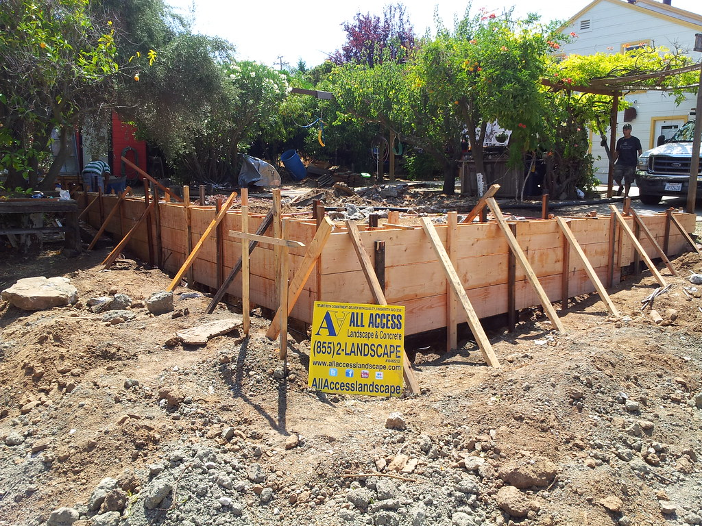 Concrete Forms For Retaining Wall Martinez All Access 51 Flickr