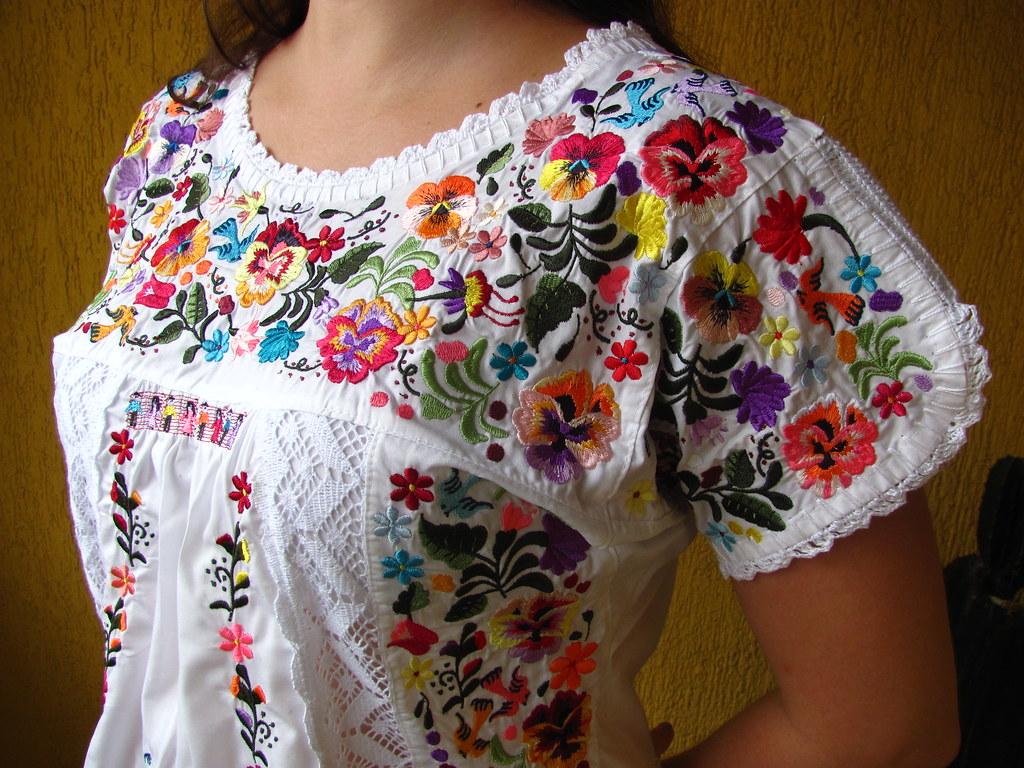 b234bba830 ... VESTIDO MEXICANO MODELO SAN ANTONIO