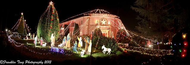 Christmas 2012: The Balian Mansion (Panorama view)
