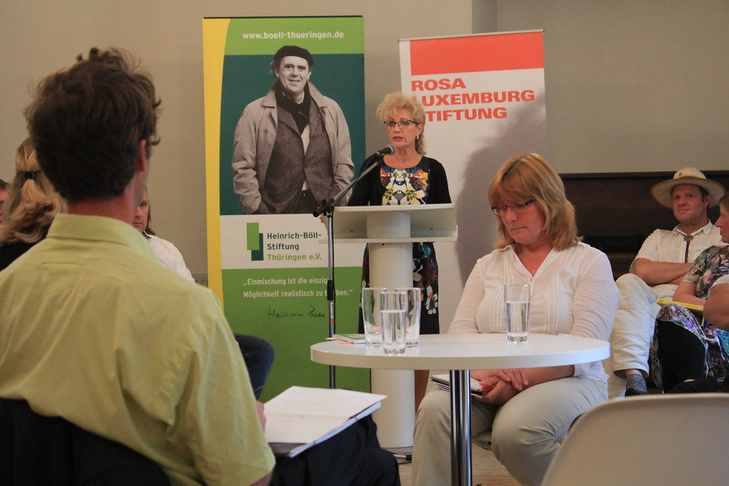 Input von Birgit Keller, Ministerin für Infrastruktur und Landwirtschaft (Die Linke)
