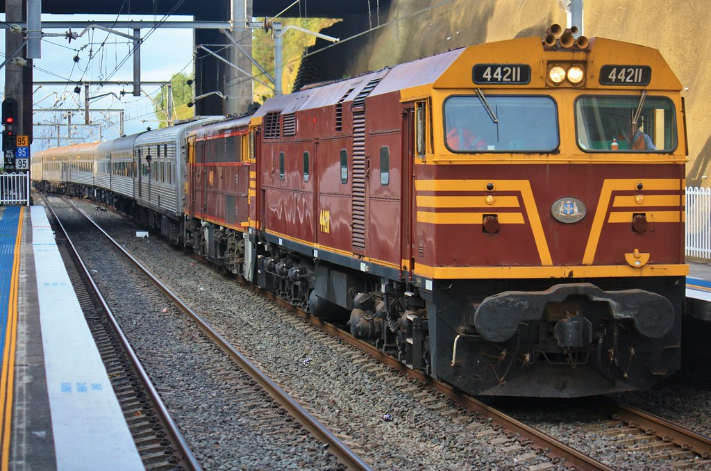 Melbourne Cup train by stephen3830