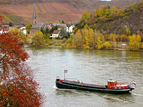 "Flickr image #1000: The ""Anna Koosje"" at Boppard, Germany 