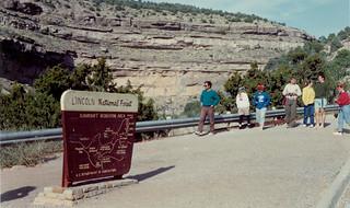 1990 spring break trip to New Mexico