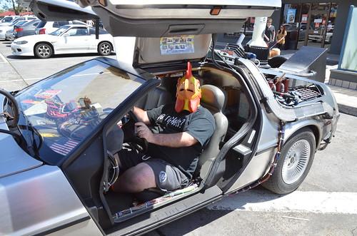 """DeLorean DMC-12 """"Back to the Future"""" car   by Sascha Grant"""