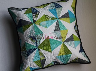Modern She Made Swap 2 - Pillow | by Mama Love Quilts (Nicole)