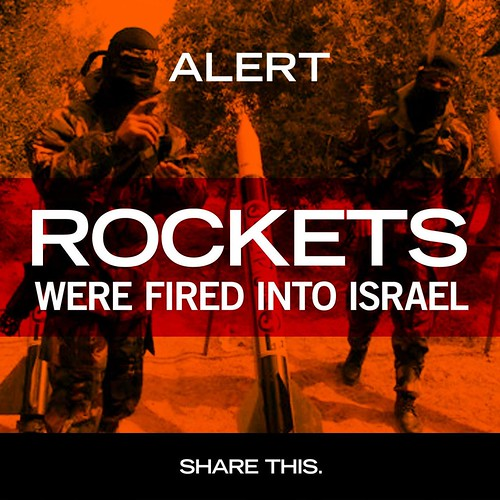 Rockets Were Fired Into Israel | by Israel Defense Forces