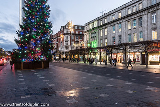 Christmas Tree In O'Connell Street (Dublin) | Since 2008 a ...