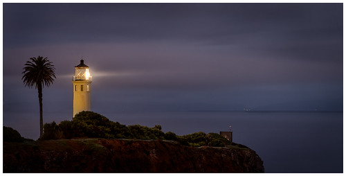 ocean california lighthouse color water night losangeles moody pacific 2012 d800 waterscape palosverdes