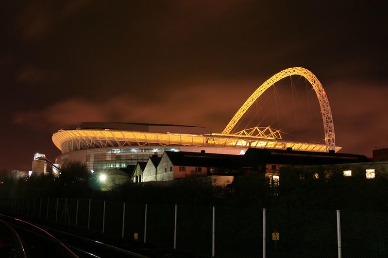 Wembley evening