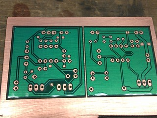 PCB Mask After Drilling | by nebarnix