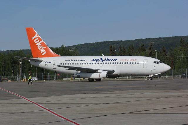 Air North / Yukon Boeing 737-2X6C C-GANV