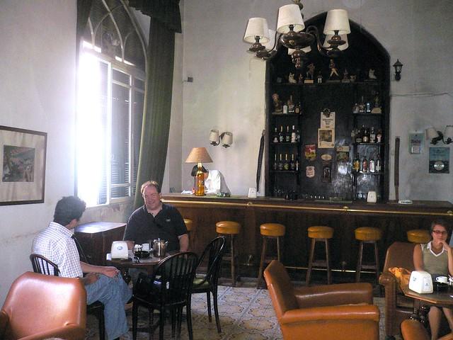 Inside the Baron Hotel, Aleppo, Syria