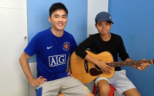 1 to 1 guitar lessons Singapore Poh Peng