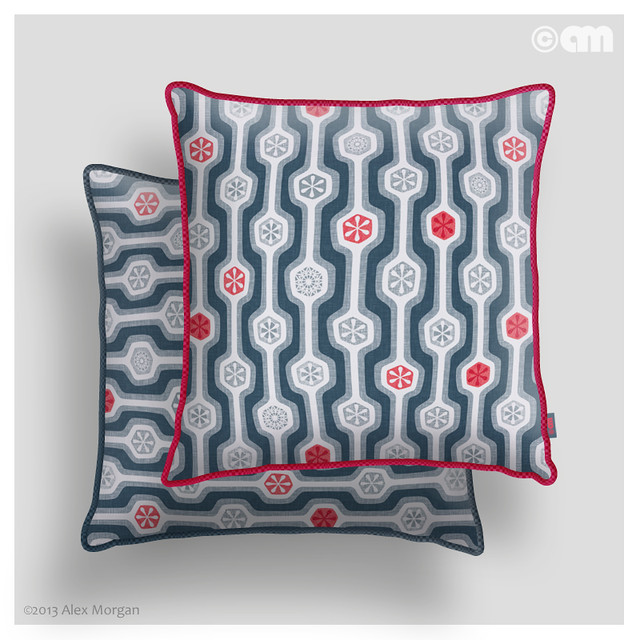 Snow White Rose Red. cushions