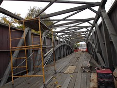 金, 2012-10-26 15:11 - Eshleman's Mill Covered Bridge(修復中)