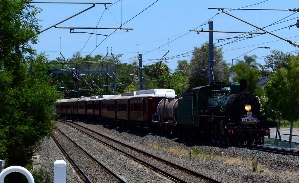 Sunshine Express Rail Tours - Santa Steam to Shorncliffe by Shawn Stutsel