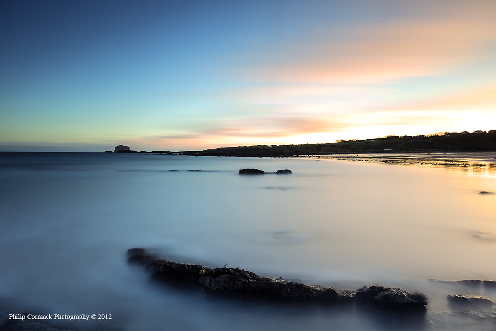 North Berwick Beach at Sunrise