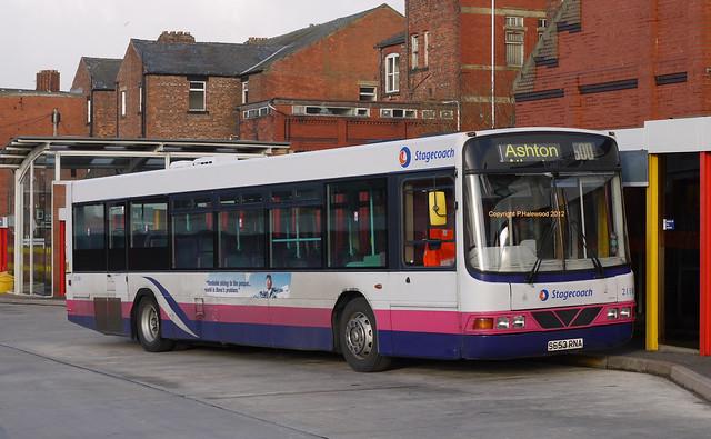 Stagecoach Wigan 21181 (S653RNA)