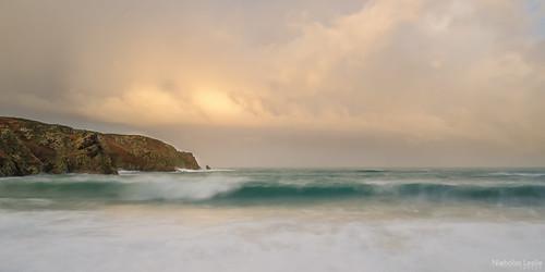 longexposure panorama seascape abstract clouds sunrise landscape nikon waves sigma jersey 1770 manfrotto plemont stouen sigma1770 colorefex d7000