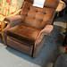 Recliner fabric chair E25