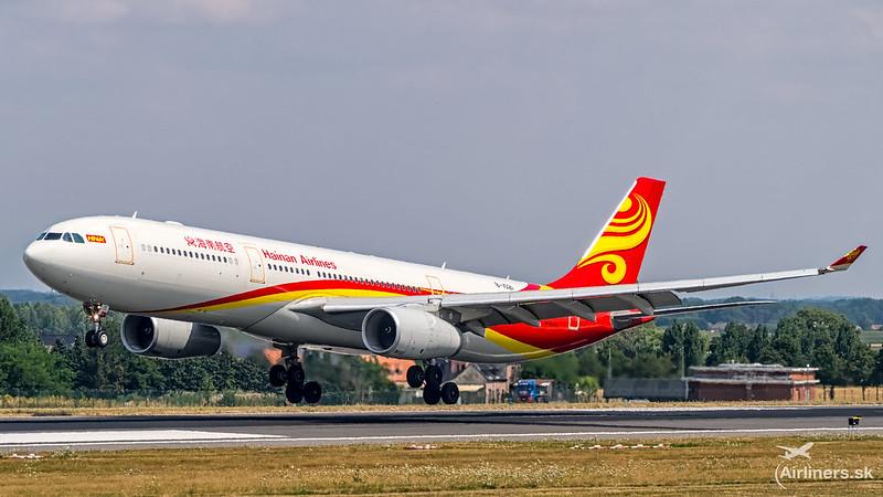 B-1021 Hainan Airlines Airbus A330-343