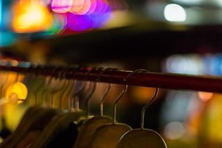 Coat Hangers - Nana Tai Alley - Bangkok, Thailand