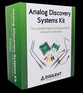 Digilent Analog Discovery Systems Kit | The portable test an