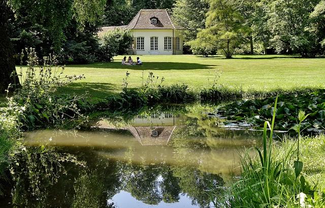 GERMANY , Botanischer Garten am Schloss Hohenheim , 76471/10479