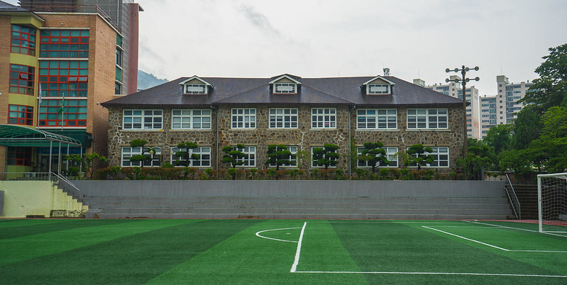 Maesan Middle School Hall, Suncheon, South Korea