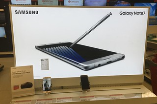 Samsung Galaxy Note 7 Display, Target 9/2016, pics by Mike Mozart of TheToyChannel and JeepersMedia on YouTube #Samsung #Galaxy #Note #7 | by JeepersMedia