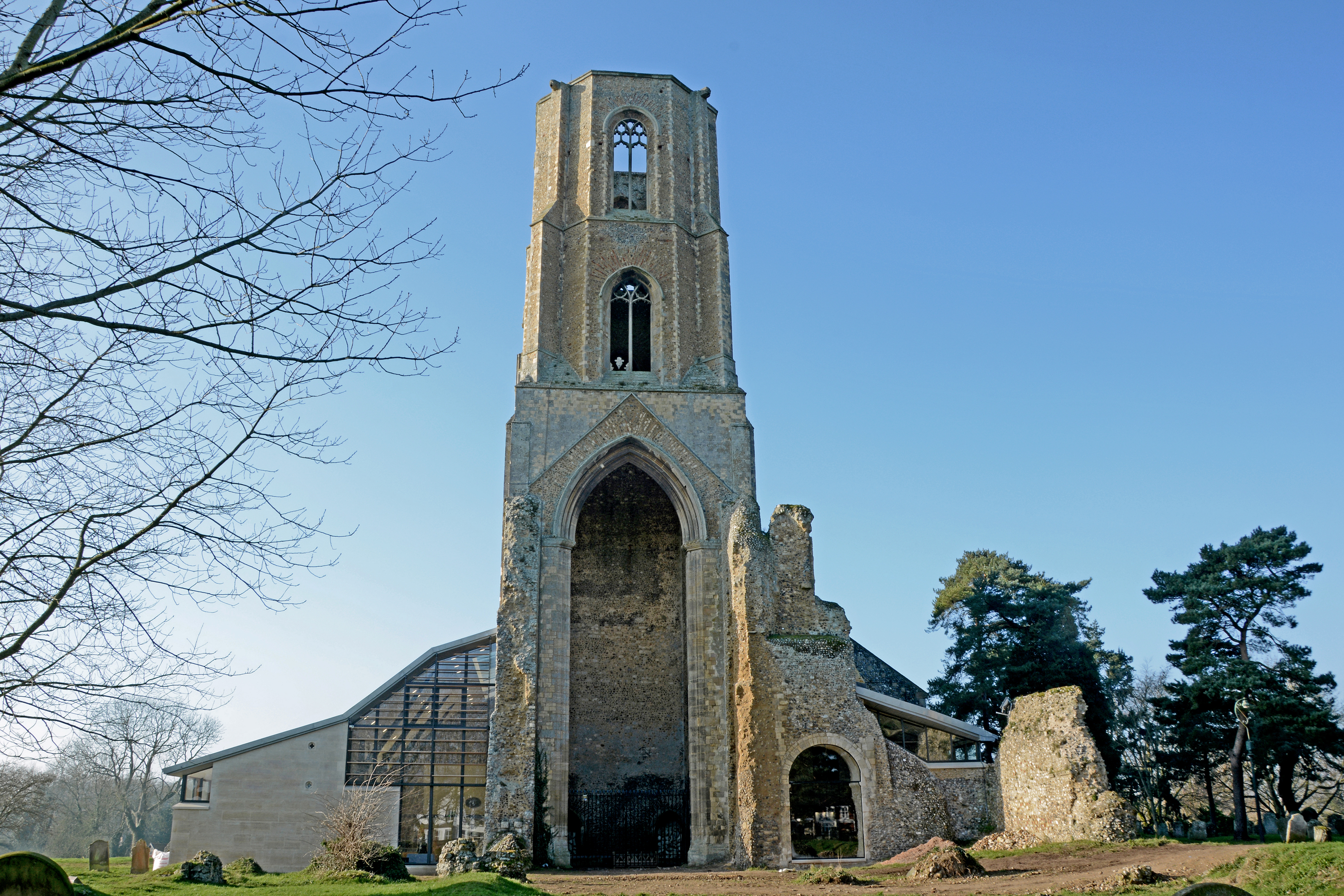 St Mary and St Thomas of Canterbury (Wymondham Abbey) - Freeland Rees Roberts