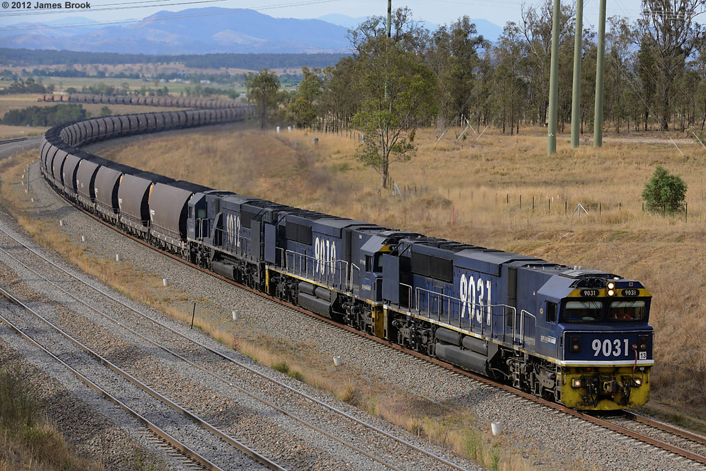 9031, 9010 and 9012 at the Golden Highway by James Brook