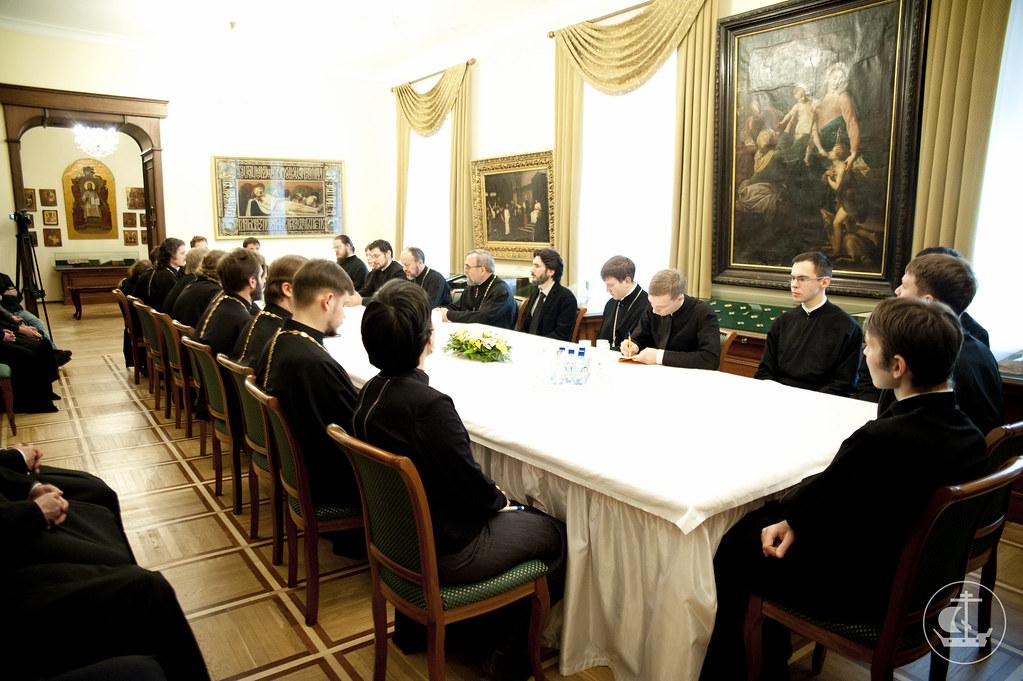 20 ноября 2012, Подписание договора о сотрудничестве между СПбПДА и богословским факультетом Бухарестского университета
