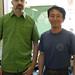 Hugo en compagnie de M. Fukui (Sencha Kaori Hokuen)
