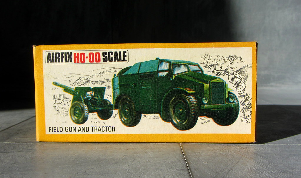 Airfix HO-OO Scale Plastic Model World War II Military Veh