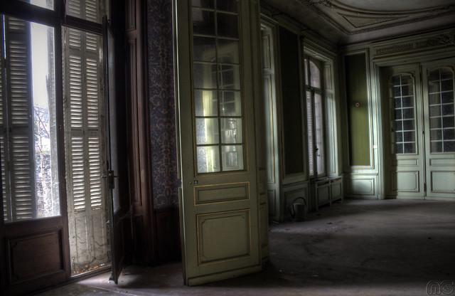 Porte du balcon Chateau Lumiere