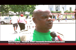 Brother Barry interviewed after the African American Leadership Summit @ FEMA in WAshington DC 2011 | by intactcdc