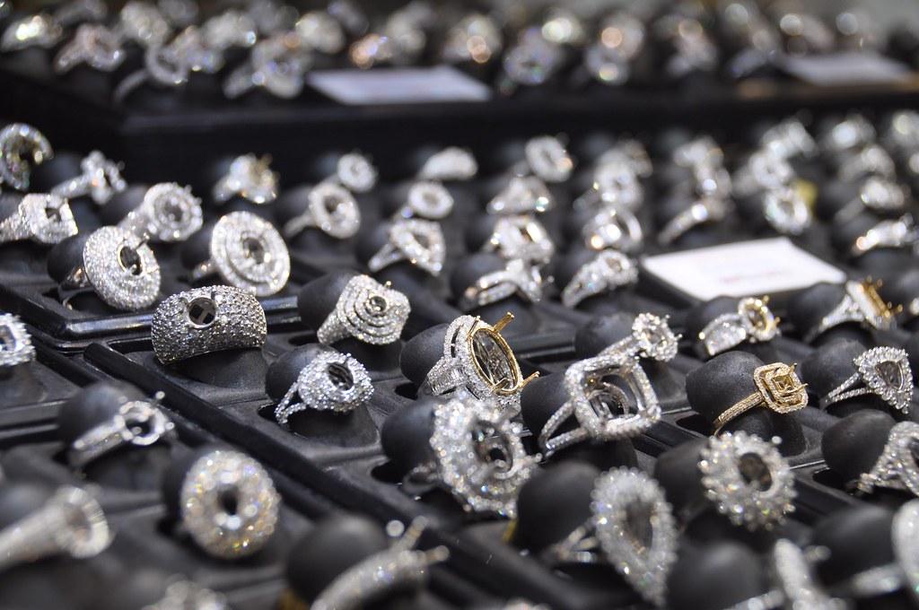 InterGem Jewelry Show Shopping