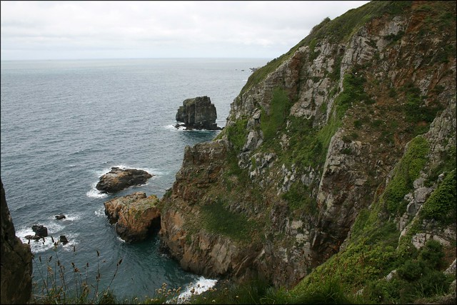 View from the Window in the Rock, Sark