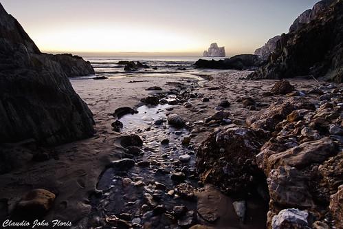 sardegna sunset sea panorama water landscape tramonto mare paesaggio paradiso masua sulcis sardigna iglesiente