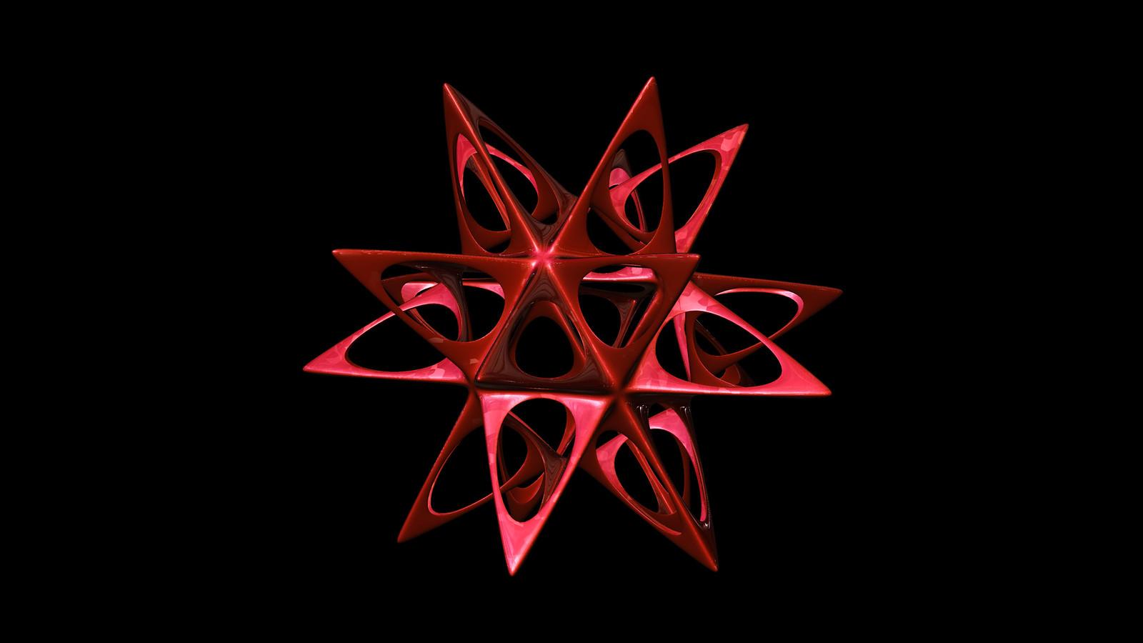 Spiky icosahedron