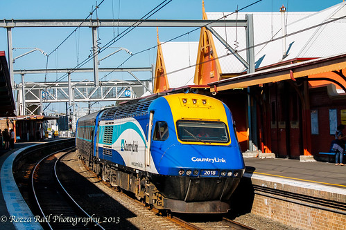 Empty CountryLink XPT at Sydenham | by Rozza Rail Photography
