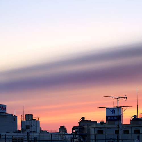 new morning pink sky rose japan clouds sunrise canon dawn soft whisper cityscape year newyear nd 5d yokohama markii firstlight 2013 kanagawaprefecture bigstopper karlocamero jankarlocamero