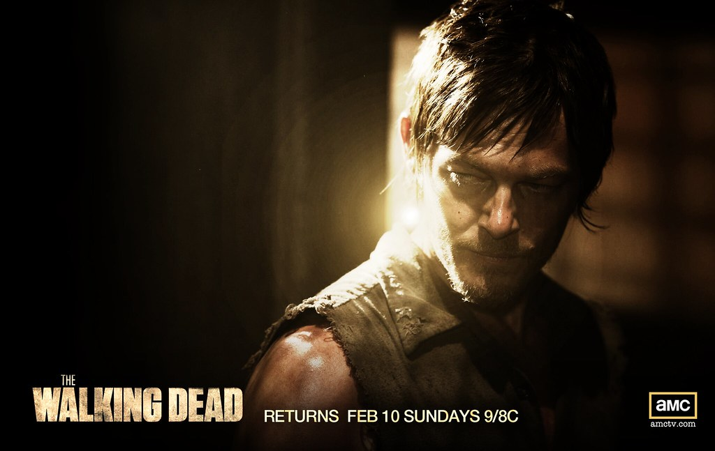 Daryl Dixon Wallpaper Wallpaper I Made For The Walking Dea