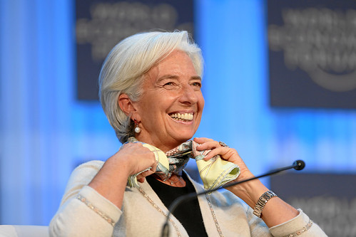 The Global Economic Outlook: Christine Lagarde | by World Economic Forum