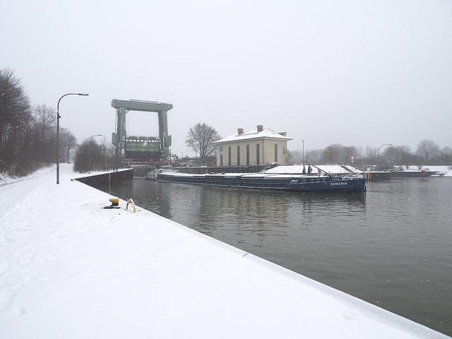 Schleuse Flaesheim Winter-9