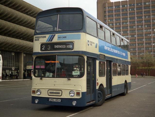 Preston Bus 145 (UHG145V)