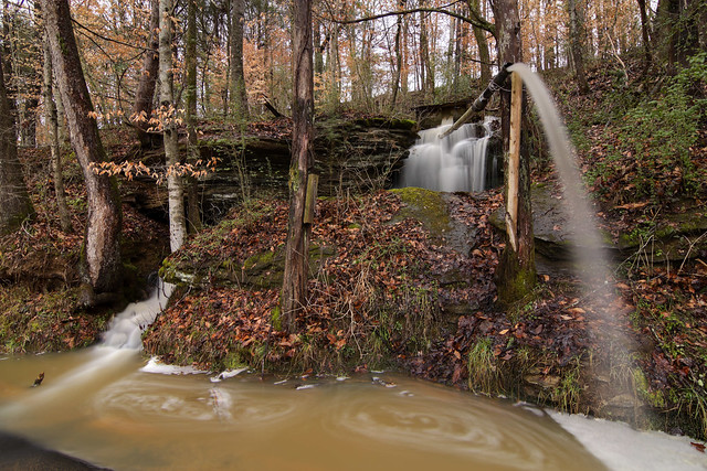 Unnamed waterfall, White Co, TN