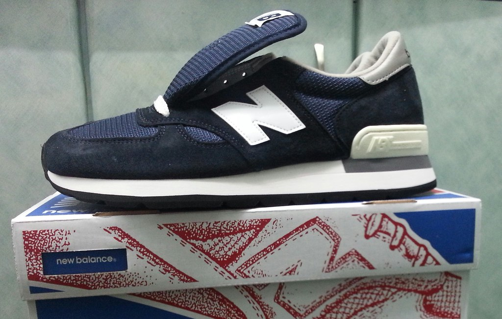 new product 18390 27e36 New Balance 990N Navy | New entry | pinkyy90 | Flickr